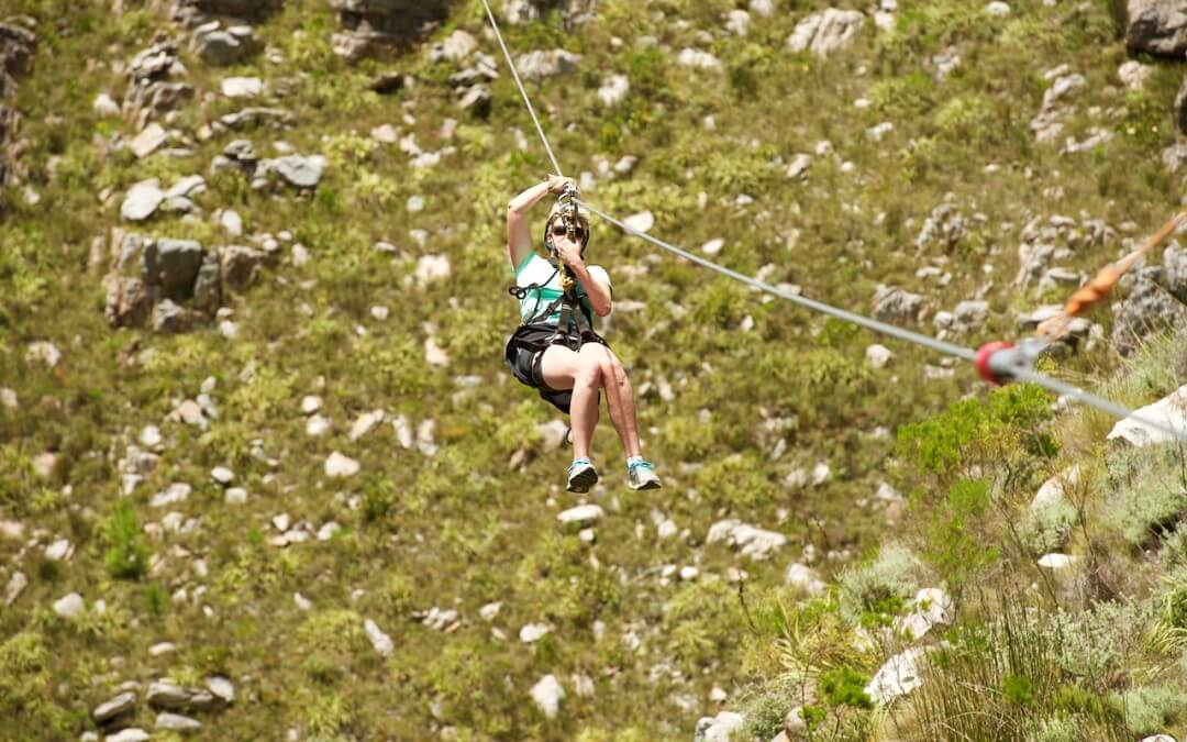 Ziplining in the Holland Hottentot Mountains is equal parts fear and wonder